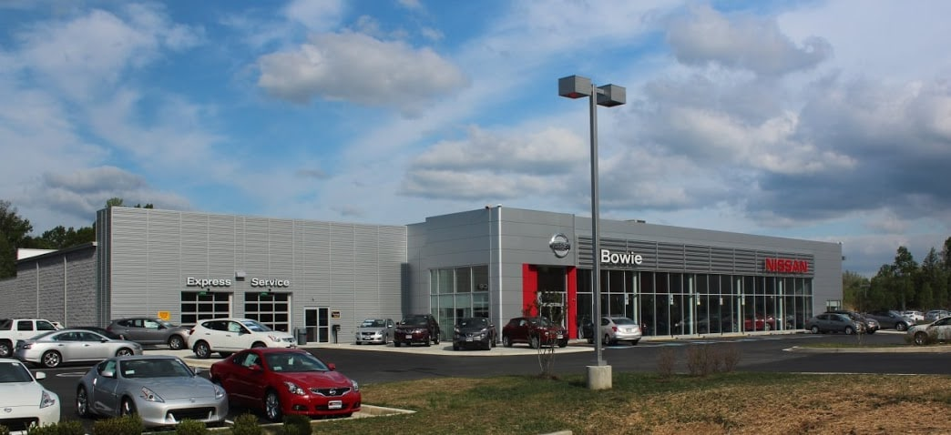 nissan dealership bowie md