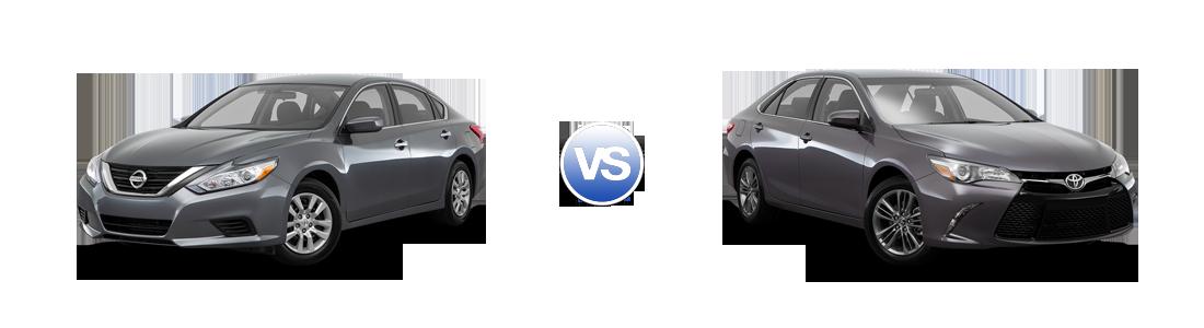 Compare 2016 Nissan Altima vs Toyota Camry