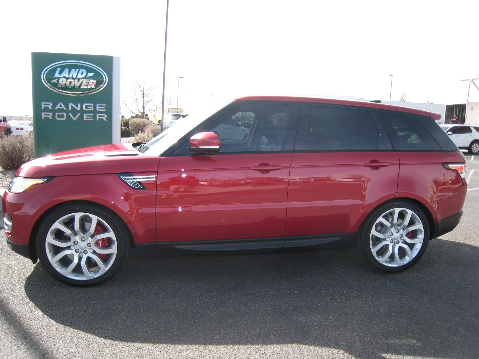 2017 Land Rover Range Rover Sport 5.0L V8 Supercharged SUV