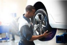 Acura Service tire change