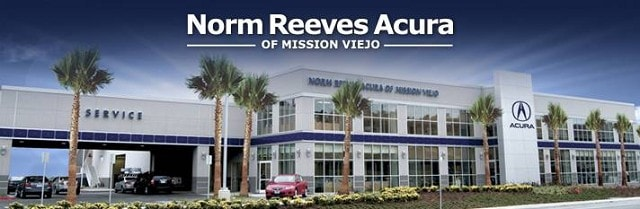 Norm Reeves Acura Dealership Mission Viejo