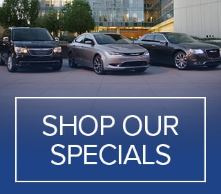 Shop our Chrysler, Dodge, Jeep, and Ram specials