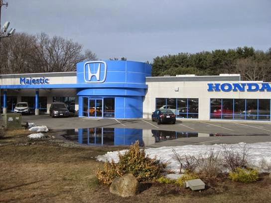 Honda dealer near providence ri directions to majestic honda for Honda dealerships in ri