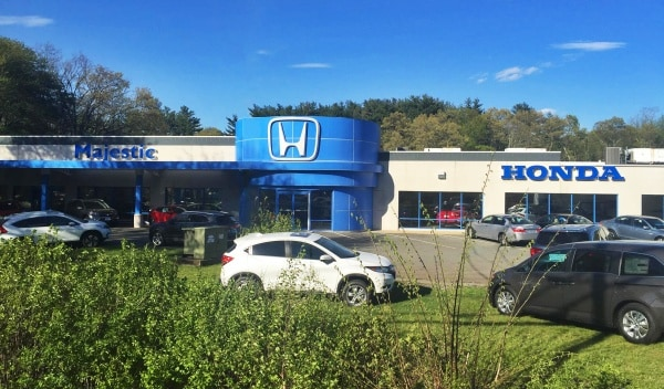Majestic Honda, new & used car dealer in Rhode Island