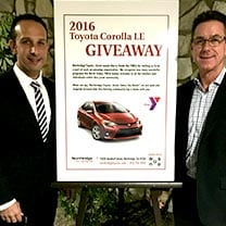 ymca toyota corolla giveaway | For a great selection of new and used Toyota vehicles, visit Northridge Toyota. Whether you're looking to buy or lease, we will have a Toyota just for you.