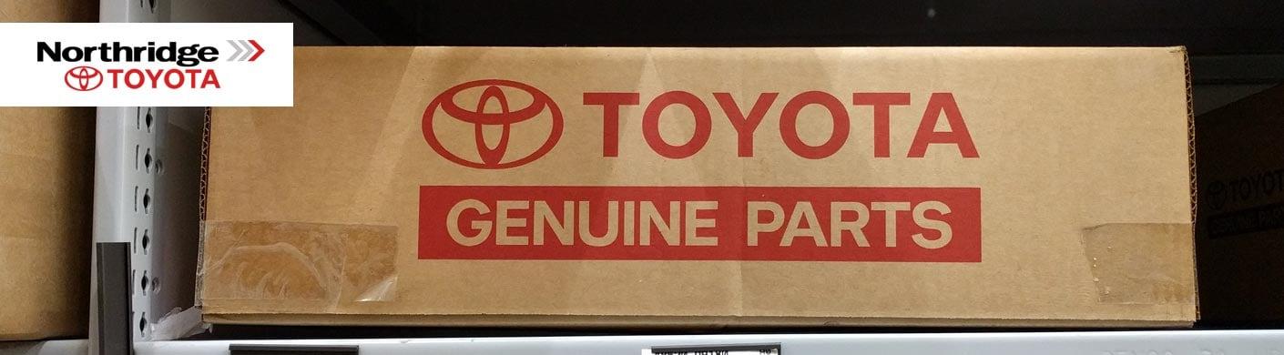 Genuine OEM Toyota Parts | Northridge Toyota Wholesale Parts serving Mission Hills