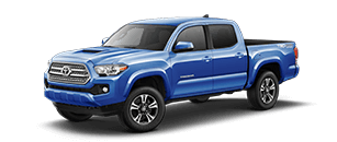 2017 Tacoma BLAZING BLUE PEARL | Northridge Toyota serving Canoga Park