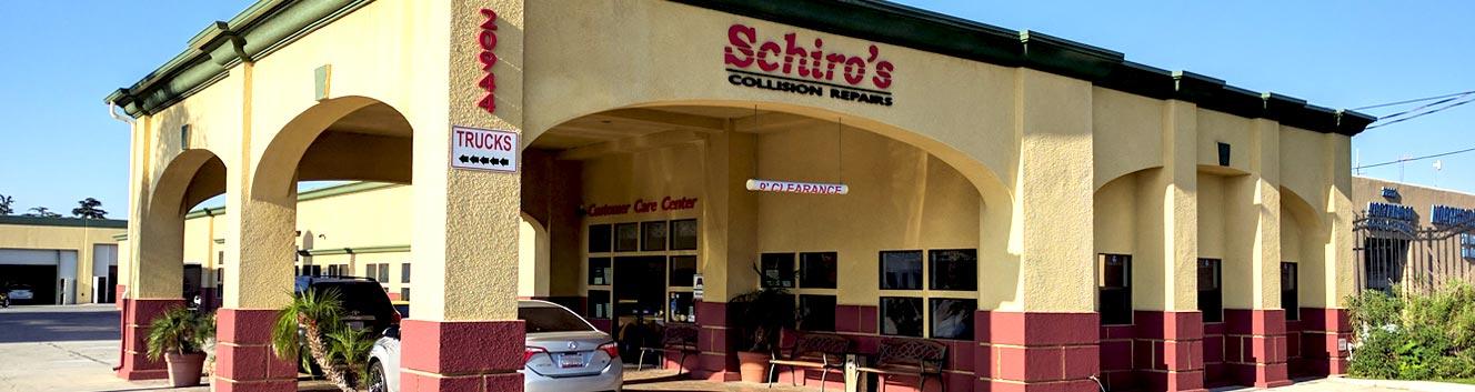 Schiro's Collision Repairs Center   Northridge Toyota approve auto body repair shop