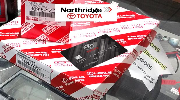 Northridge Toyota Credit Card | Use it at Northridge Toyota and start earning points