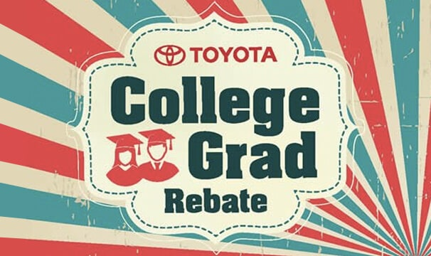 Northridge Toyota College Grad Rebates