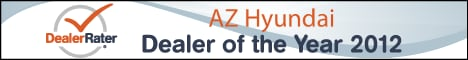 2012 Hyundai Dealer of the Year Award