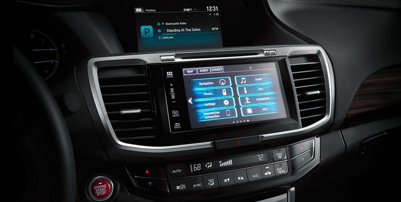 tech features in the 2017 Honda Accord