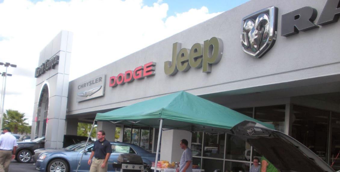 Jim browne north tampa chrysler jeep dodge ram autos post for Tampa bay honda dealers