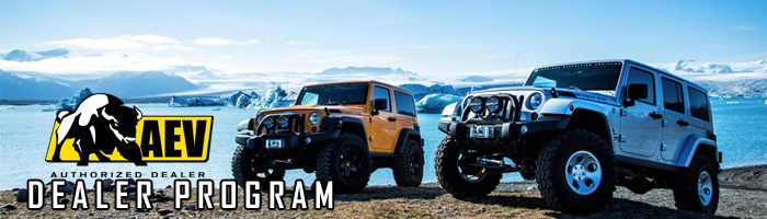 High Quality AEV Wrangler Packages