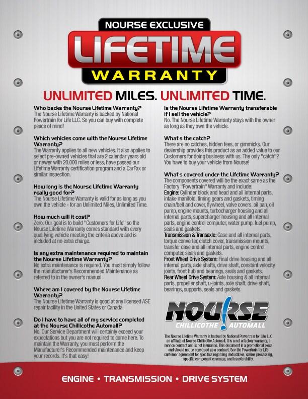 Nourse Honda Lifetime Vehicle Warranty | Dealership near ...