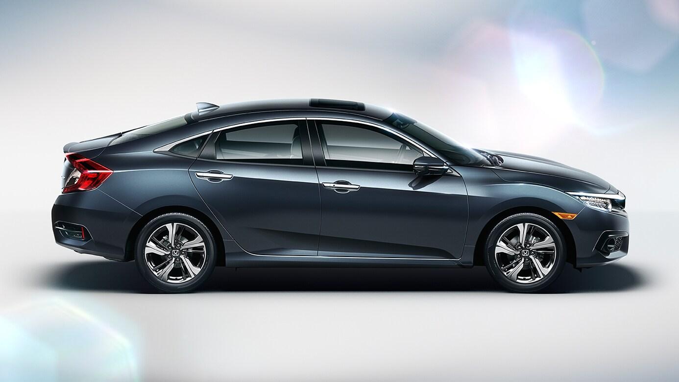 number 7 honda the new 2016 honda civic sedan