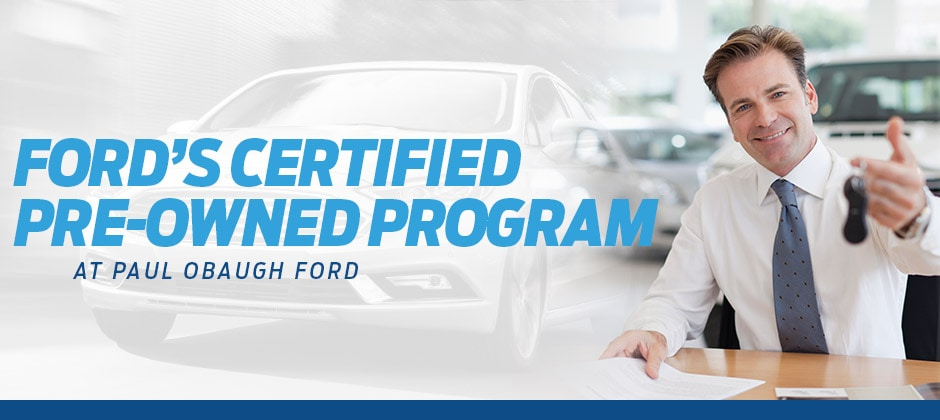 Ford's Certified Pre-Owned