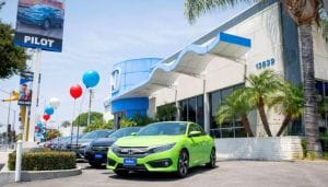 Honda Dealer near Corona CA