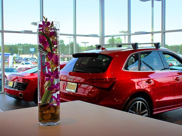 Audi Fort Wayne showroom area