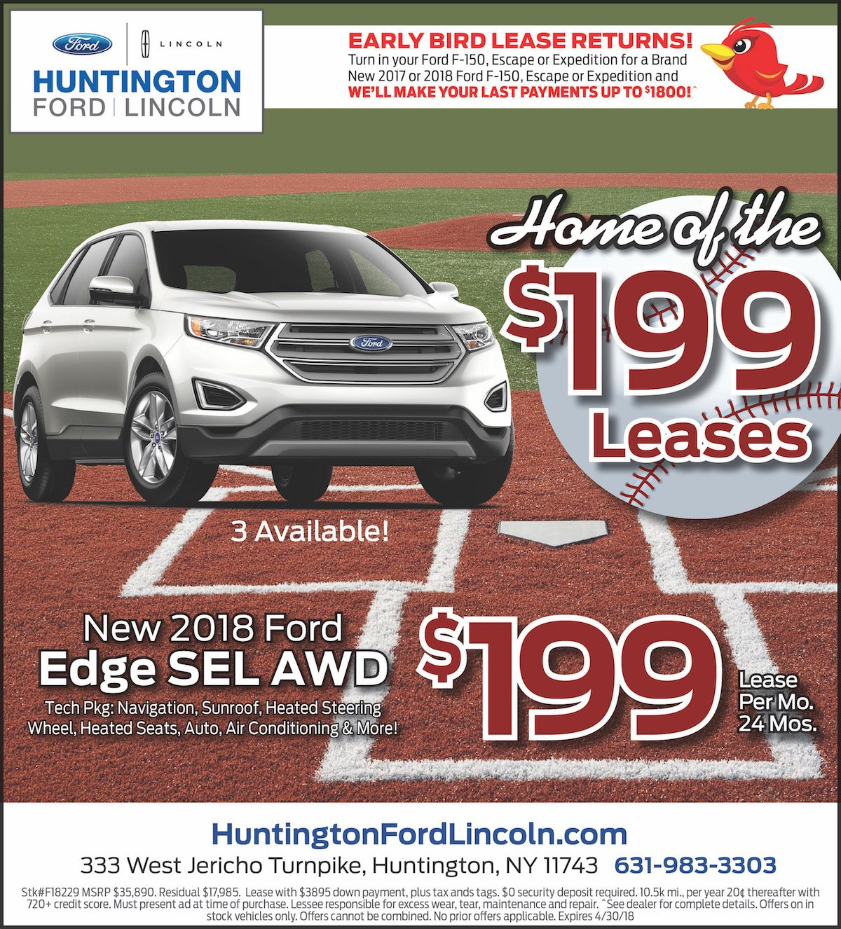 Ford Edge Lease Special New York