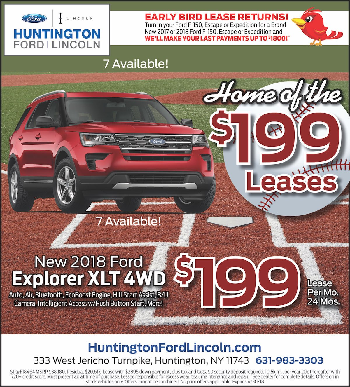 Ford Explorer Lease Special New York