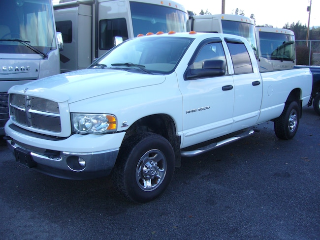New 2003 Dodge Ram 3500 Laramie Truck Quad Cab Summerland BC