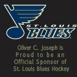 OCJ is a Proud Sponsor of the St Louis Blues