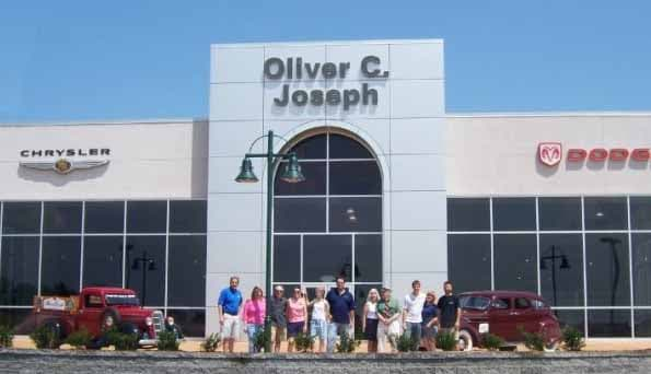 Oliver C Joseph New Dealership opened aug 2006