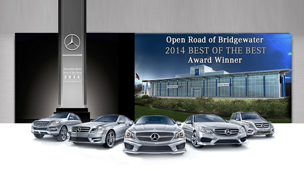 Open road of bridgewater new mercedes benz dealership in for Mercedes benz dealer northern blvd