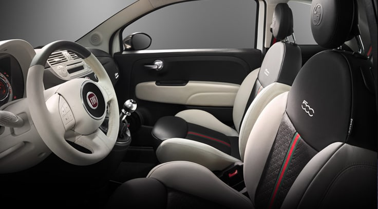 Fiat Gucci Interior