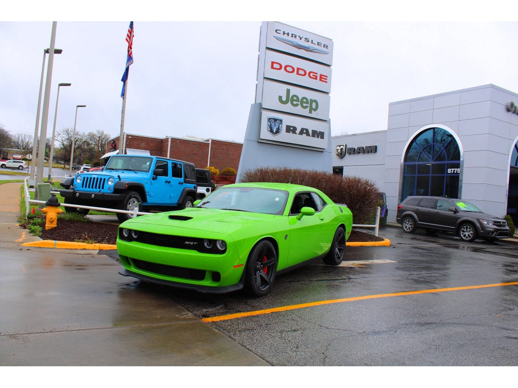 2017 Dodge Challenger SRT Hellcat This vehicle wont be on the lot long Packed with features and
