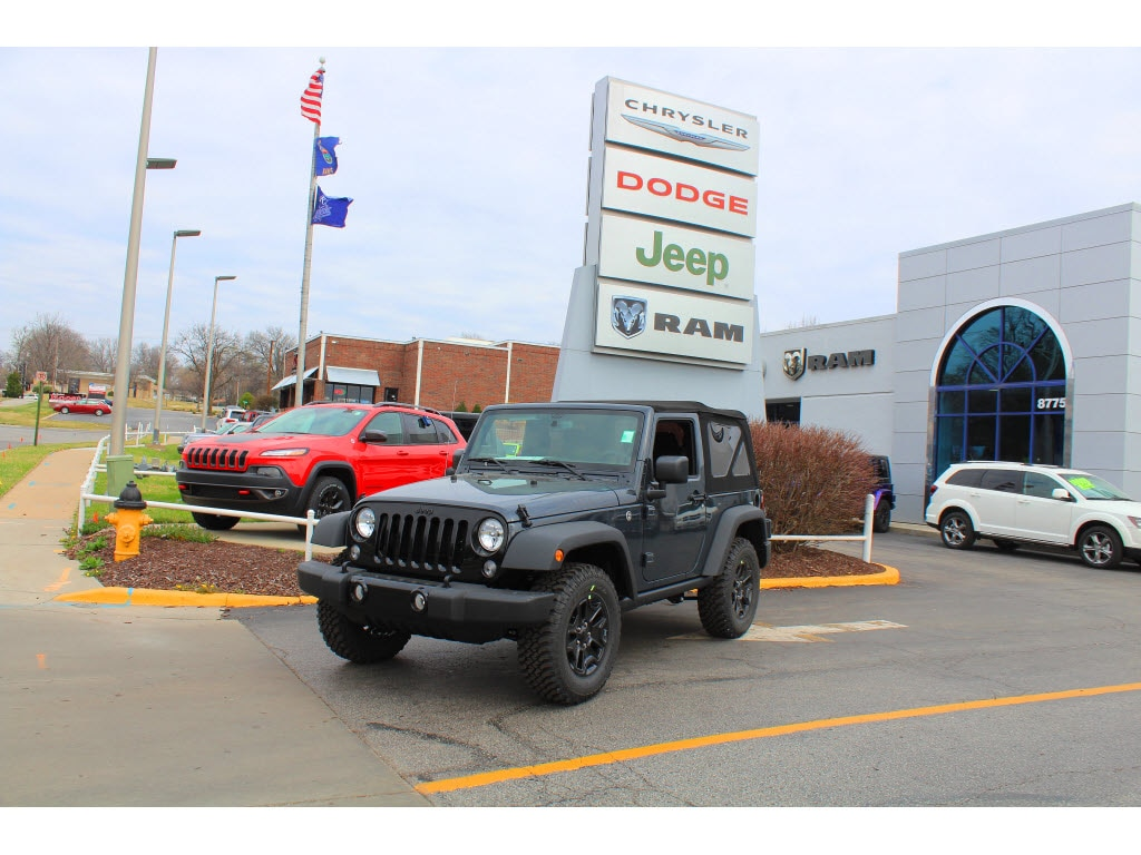 2017 Jeep Wrangler Sport Looking for a new car at an affordable price This Jeep wont be on the l