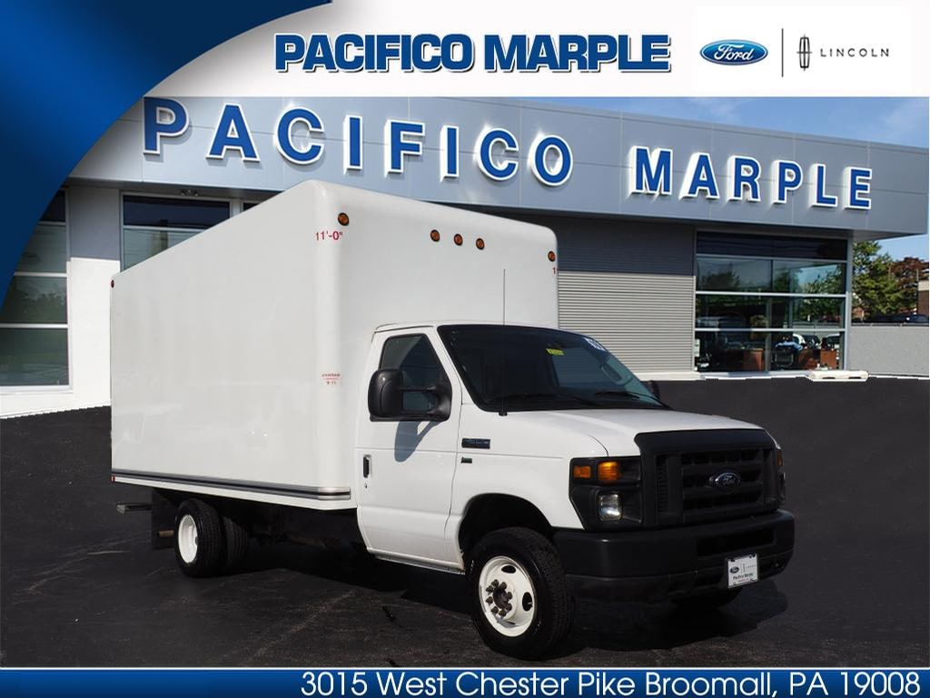 2016 ford e series chassis 15 dry freight box truck