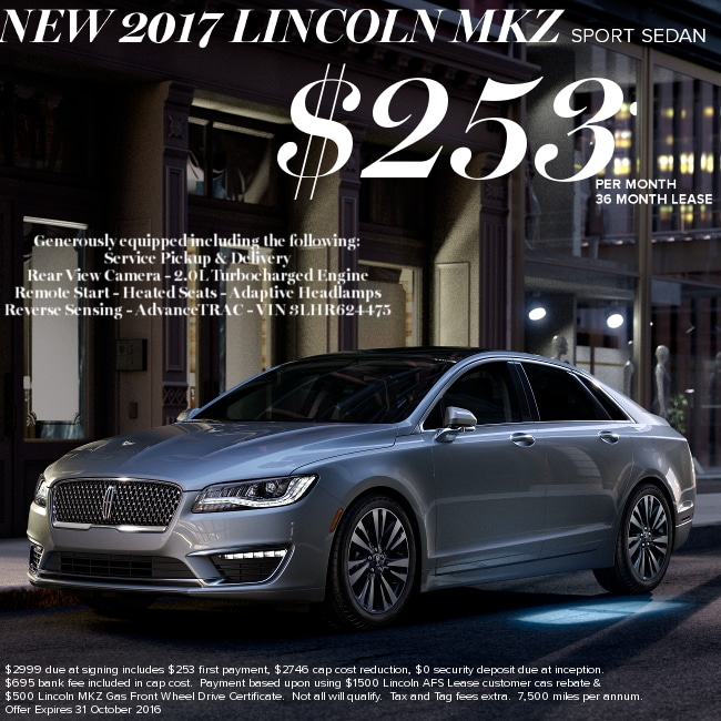 Lincoln Lease Offers: New Lincoln Dealership In