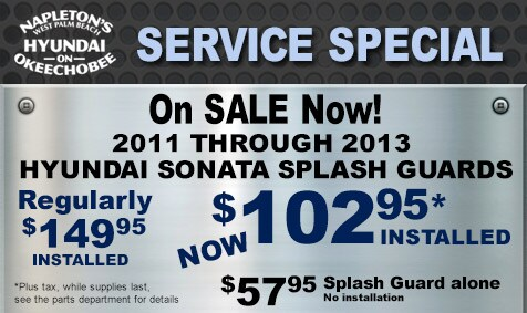 Hyundai Service Specials Napleton S West Palm Beach