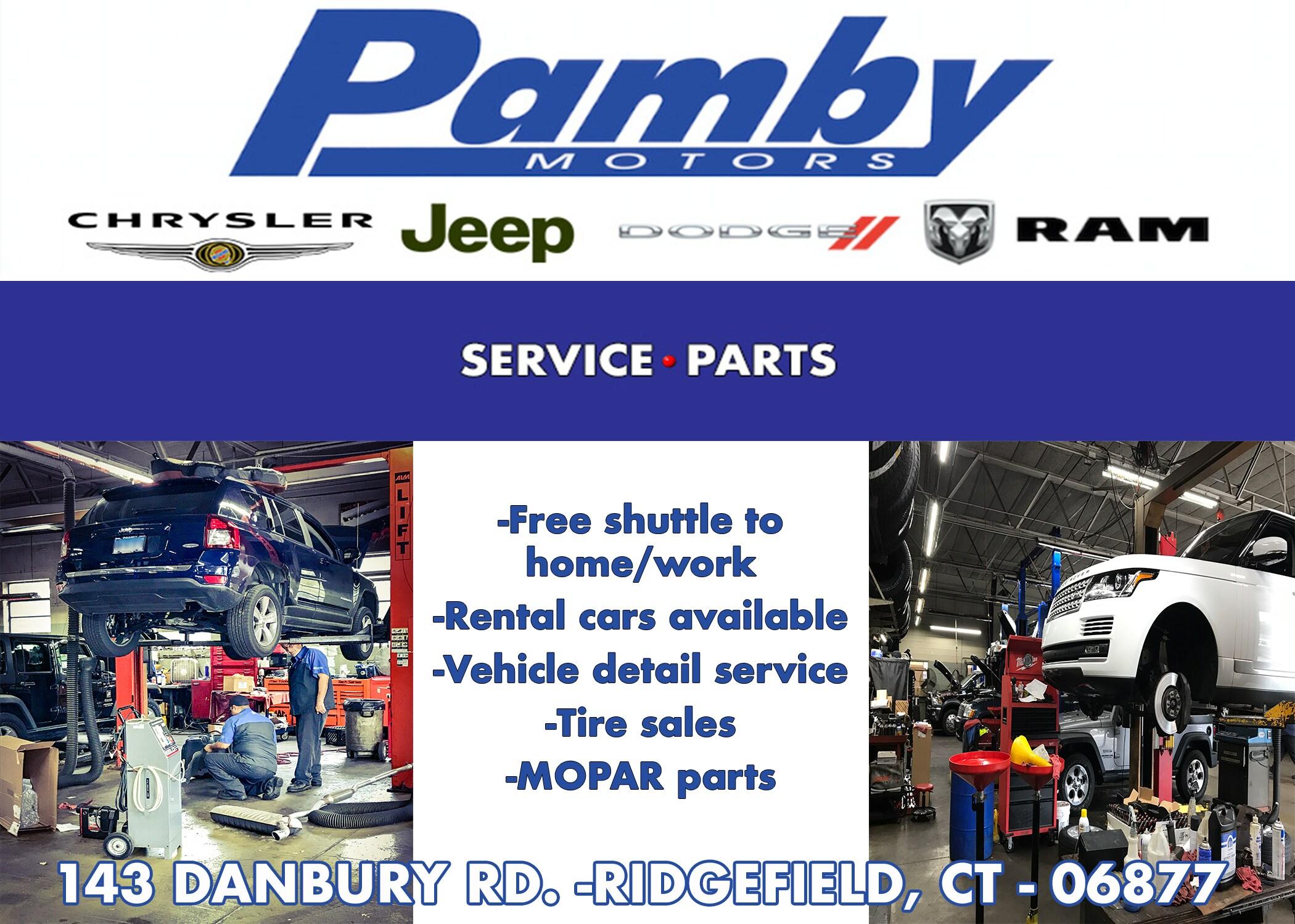 Pamby Motors New Used Car Dealer Ridgefield Ct