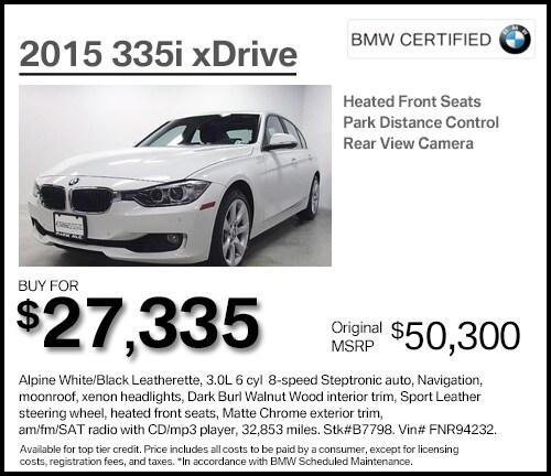 Bmw Xdrive 328i: BMW Dealer Near Paramus