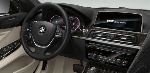 2017 BMW 6 Series interior