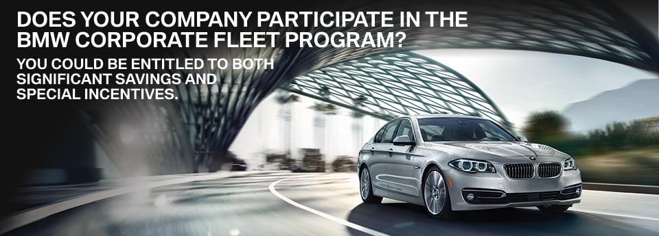 Corporate Fleet  BMW Dealer Serving Paramus