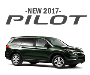 New 2017 Honda Pilot Finance Offer