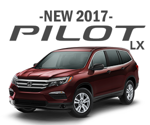 New 2017 Honda Pilot Lease Offer