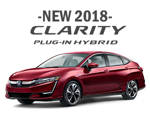 New 2018 Honda Clarity Finance Offer