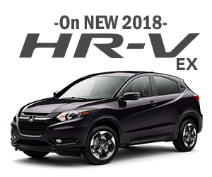New 2018 HRV Lease Offer