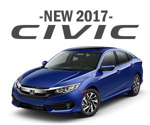 New 2017 Honda Civic Finance Offer
