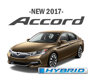 New 2017 Honda Accord Hybrid Finance Offer