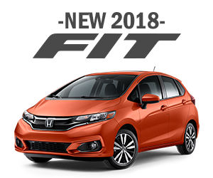 New 2018 Honda Fit Finance Offer