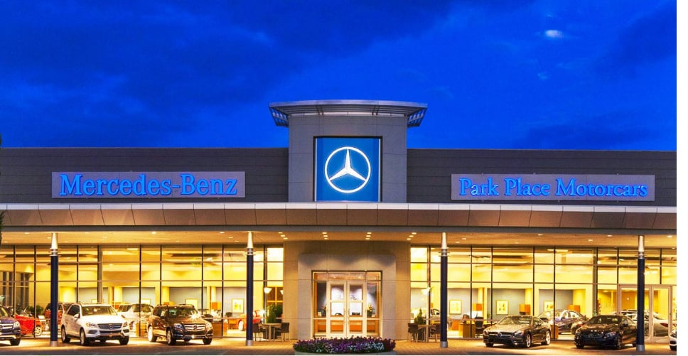Park place motorcars fort worth new mercedes benz for Mercedes benz in fort worth