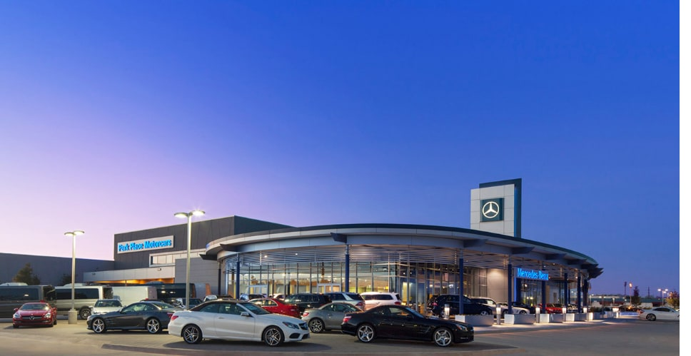 park place motorcars grapevine new mercedes benz