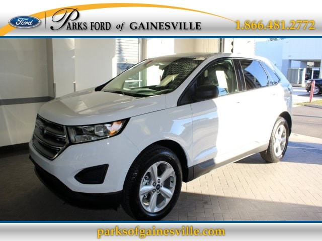 2016 White Ford Edge SE
