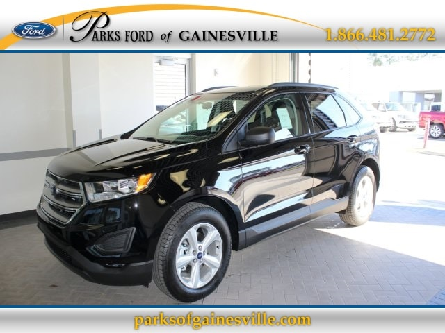 2016 Black Ford Edge SE